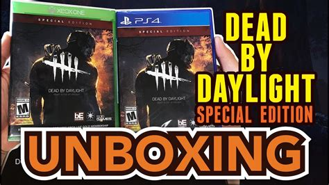 Sale Dead By Daylight Ps4 dead by daylight special edition ps4 xbox one unboxing