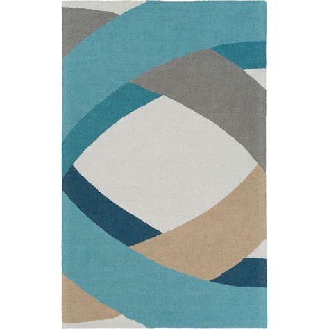 dynamic rugs charisma mediterranean blue 4 ft x 6 ft