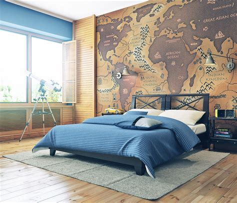 unusual wallpaper for bedrooms 10 unusual wall art ideas