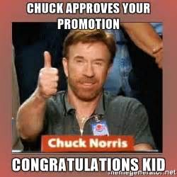 Thumbs Up Kid Meme - chuck approves your promotion congratulations kid chuck