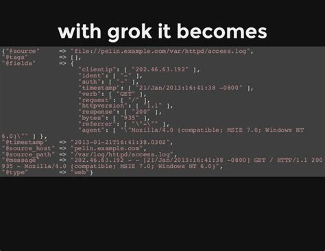 writing grok pattern logstash yes logging can be awesome