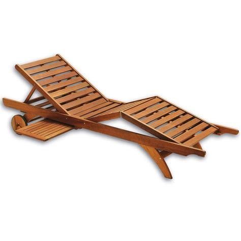 lettini per giardino lettino prendisole in legno aloe regolabile con