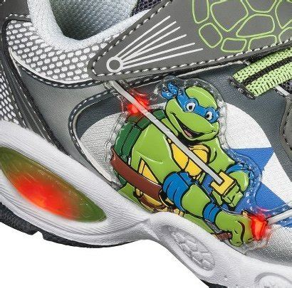 turtle light up shoes mutant turtles light up shoes sneakers grey