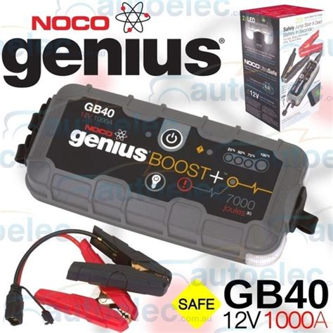 noco genius boost battery charger noco genius boost 12v mini jump starter booster 1000a max
