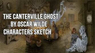 the canterville ghost by oscar wilde characters sketch