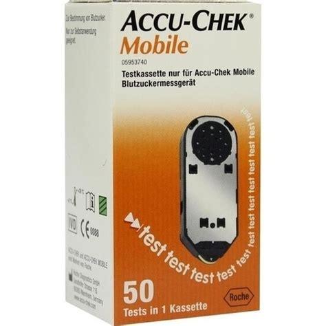 Accu Mobil Ss accu chek mobile testkassette 50 st besamex de