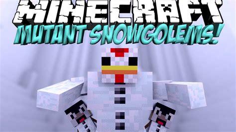 Minecraft Papercraft Snow Golem - mutant creatures mod minecraft mutant snow golem mod