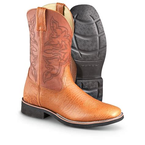 mens roper boots sale s roper 174 square toe western boots 207209