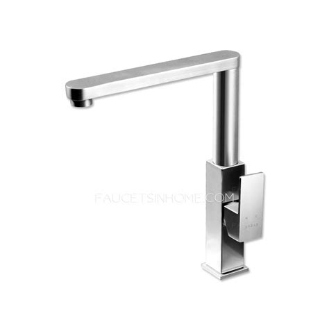 square kitchen faucet designer stainless steel rotatable square shaped kitchen