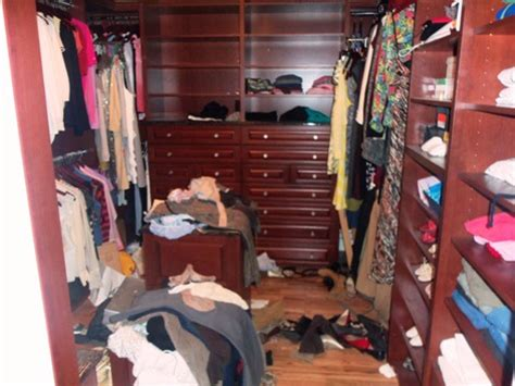 Cluttered Closet by Before And After