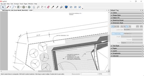 layout sketchup units marking dimensions sketchup knowledge base