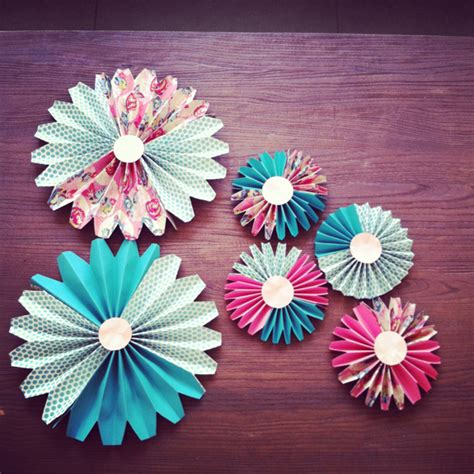How To Make Decorative Paper Fans - how to make paper fan decorations parenting living