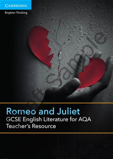 gcse english literature for 1107454557 aqa gcse english literature romeo and juliet relationships resources by uk teaching resources