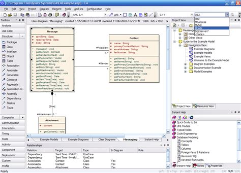 database modeling tool software engineering tools for software development and
