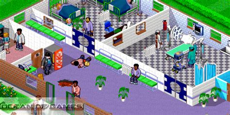 download theme hospital pc game theme hospital free download ocean of games