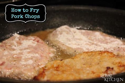 how to fry pork chops consumerqueen com oklahoma s coupon queen