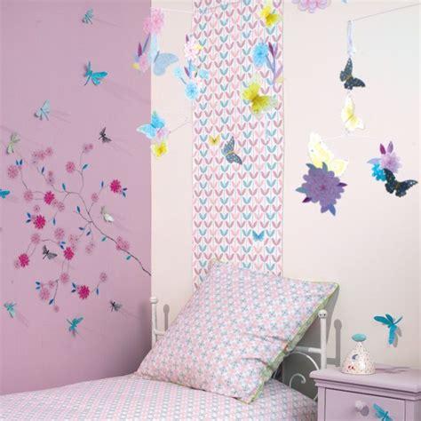 chambre fille papillon chambre fille papillon fleur djeco picslovin