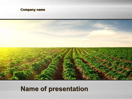 Agriculture Powerpoint Template agriculture presentation template for powerpoint and keynote ppt