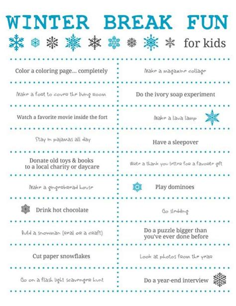 Lava Lamp by Fun Things To Do Over Winter Break For Kids Free Printable