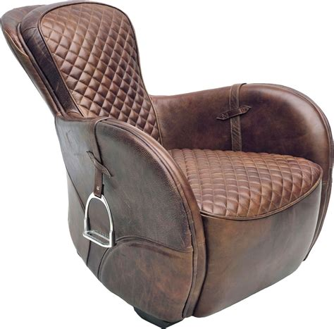 Saddle Armchair artwood saddle armchair