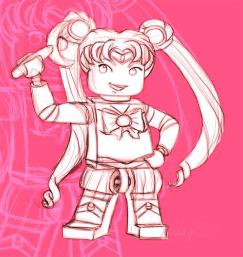 Bricks Boyu 8124a Sailor Mercury lego sailor moon by luvusagi on deviantart