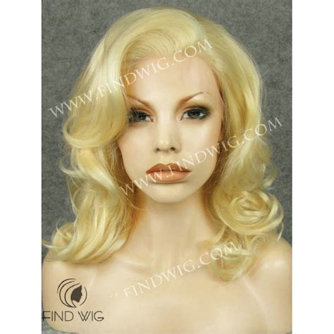Medium Wig lace front wig wavy medium wig wigs store