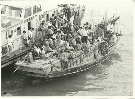 refugee boat vietnam vietnamese refugee boats 1979 1981