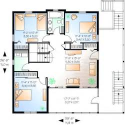 attractive house plans without formal living and dining rooms #3