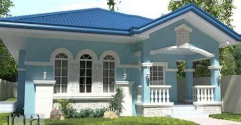 cat luar rumah warna biru kelabu bagikan contoh