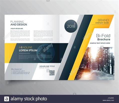 magazine layout excel stylish business bifold brichure or magazine cover page