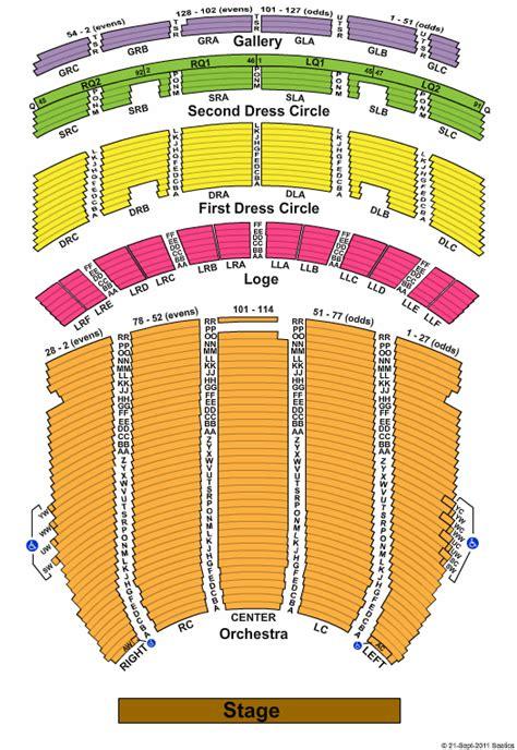 fabulous fox theatre atlanta tickets and seating chart