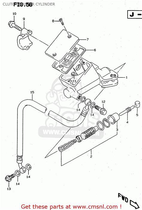 Master Kopling Atas Cylinder Assy Clutch Suzuki 1 suzuki rf900 1994 rr clutch master cylinder schematic partsfiche