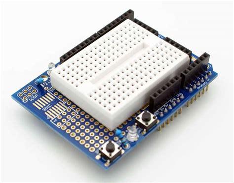 Arduino Uno Breadboard Protoshield Prototype Proto Shield buy arduino uno r3 proto shield kit with mini breadboard