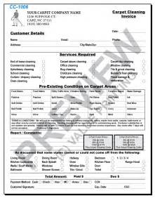 carpet cleaning invoices janitorial proposals