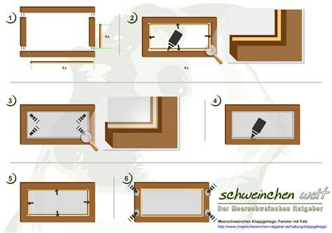 Fenster Bauen Anleitung by Klappgehege F 252 R Meerschweinchen Die G 252 Nstige Haltung So
