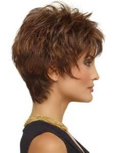 shag neckline hair cut pictures of short shag haircut with wispy neckline short