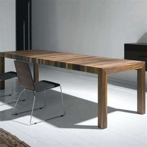 Wooden Extendable Dining Tables Volta Solid Wood Dining Table Extendable More Ambientedirect