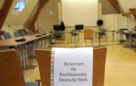Deutsche Bank Schaltet Auf Stur Kirch Vergleich Droht Zu
