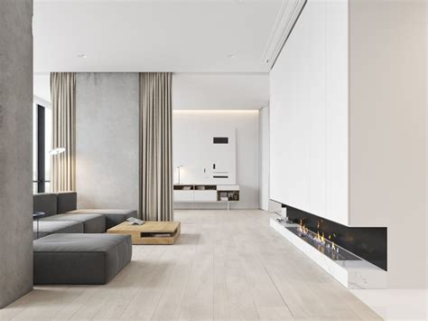 modern minimalist 3 white themed homes with striking modern minimalist