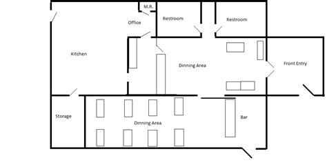 Blue Dining Room Ideas by Restaurant Blueprint Home Ideas 2016
