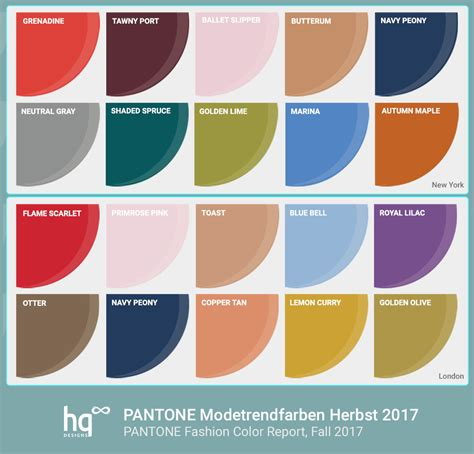 ispo color palette fall winter 2017 2018 fashion trendsetter pantone color forecast 2017 the new pantone color of the