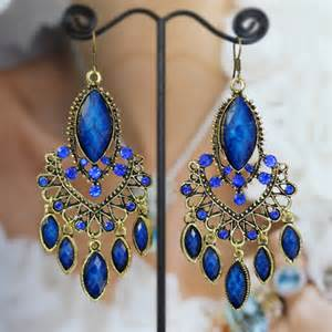blue chandelier earrings zspmed of blue chandelier earrings