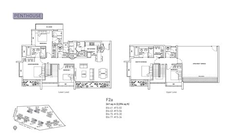 livia condo floor plan penthouse 5 bed livia