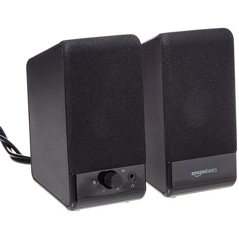 amazonbasics computer speakers usb powered review  budget speakers   sound savings