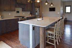 Kitchen Island That Seats 4 by Large Kitchen Island With Seating For Four Modern