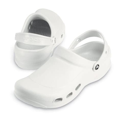 crocs specialist clog vent white light and comfortable