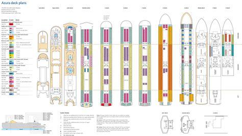 britannia cruise ship deck plan britannia cruise ship deck plan rare new in popular