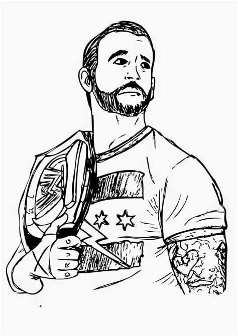 free coloring pages of all wwe