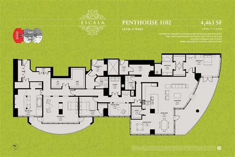 escala seattle floor plans escala penthouse shells build your dream condo urbnlivn