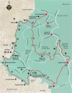 map of pebble california the roadrunner chronicles pebble and 17 mile drive